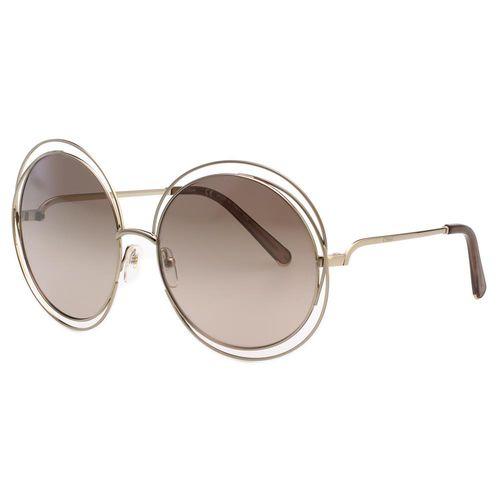 CHLOE太陽眼鏡 水銀鏡面-金色(大面版)CE114S-769