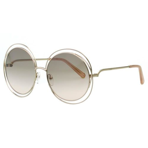 CHLOE太陽眼鏡 水銀鏡面-金色(大面版)CE114S-724