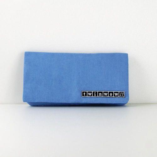 twinwow - 優雅輕盈 - 細緻質感長夾/手拿包 - 藍天使