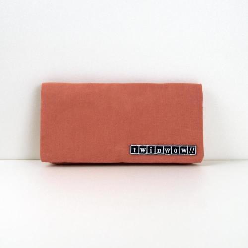 twinwow - 優雅輕盈 - 細緻質感長夾/手拿包 - 裸色系