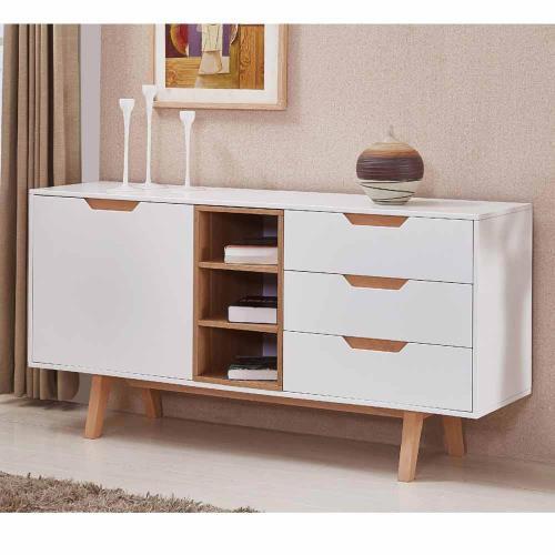 【H&D】愛麗斯5 尺白色餐櫃