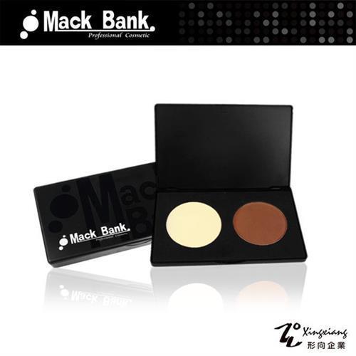 【Mack Bank】M09-0304 雙色 修容餅組(一組2色) (形向Xingxiang臉部 彩妝 底妝 打底)