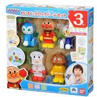 ~ 麵包超人 ~卡通動漫系列 #45 ANP 五人人形積木玩具 #40 麵包 #47 吐司