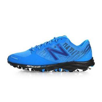 NEWBALANCE 690 V2系列 男越野慢跑鞋-4E- NB N字鞋 寬楦 藍黑