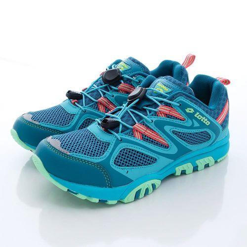 Lotto樂得-山水車三棲越野登山鞋-WW3596藍(女款)