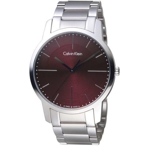 Calvin Klein CK  K2G2G14P 都會系列簡約時尚腕錶