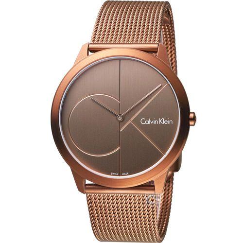 Calvin Klein minimal  大 ck 簡約時尚腕錶  K3M11TFK  40mm