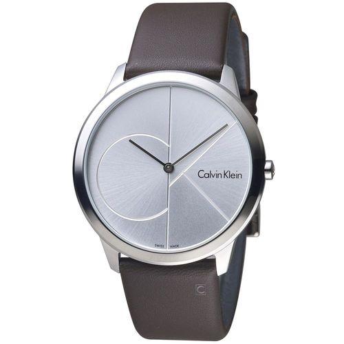 Calvin Klein minimal  大 ck 簡約時尚腕錶  K3M211G6  40mm