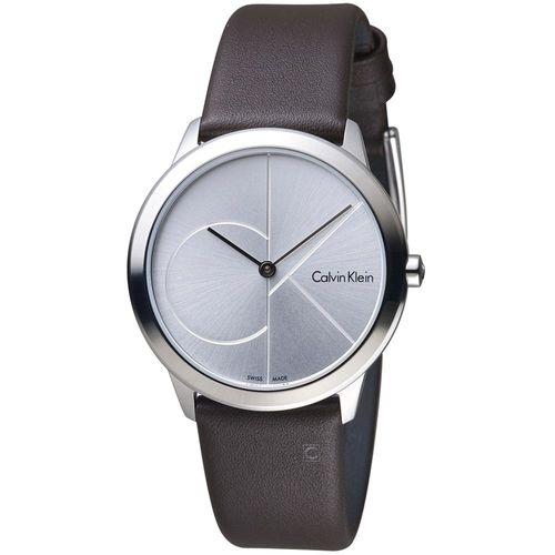Calvin Klein minimal  大 ck 簡約時尚腕錶  K3M221G6  35mm