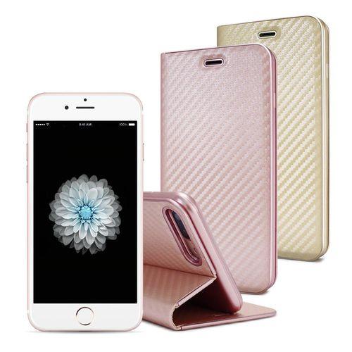AISURE Apple iPhone 6 / 6s 4.7吋 水漾碳纖紋皮套