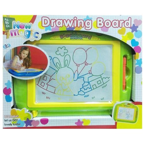 【17mall】兒童彩色磁性超大畫板-送印章 寫字板/塗鴉板/教具/兒童畫板-綠