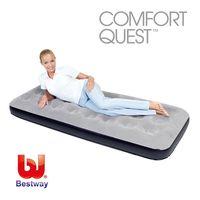 ~哈街~~Bestway~73x30x8.5單人 植絨休閒充氣床墊 空氣床墊 氣墊床