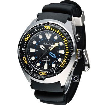 SEIKO SPOSPEX GMT 200米人動電能潛水錶 5M85-0AB0Y SUN021J1