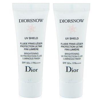 Dior迪奧 雪晶靈透亮UV隔離霜SPF50PA++++7mlx2入