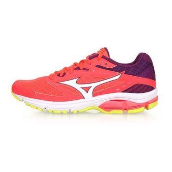 MIZUNO WAVE SURGE 女慢跑鞋-訓練 路跑 美津濃 粉橘紫