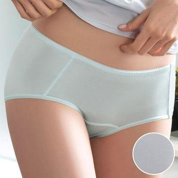 【華歌爾】COOL冰涼褲M-LL中低腰平口褲(灰)
