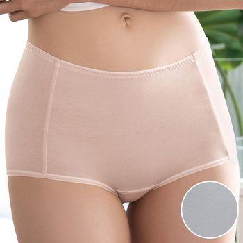 【華歌爾】COOL冰涼褲M-3L高腰三角褲(灰)