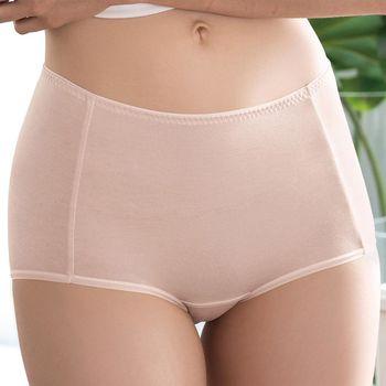 【華歌爾】COOL冰涼褲M-3L高腰三角褲(膚)