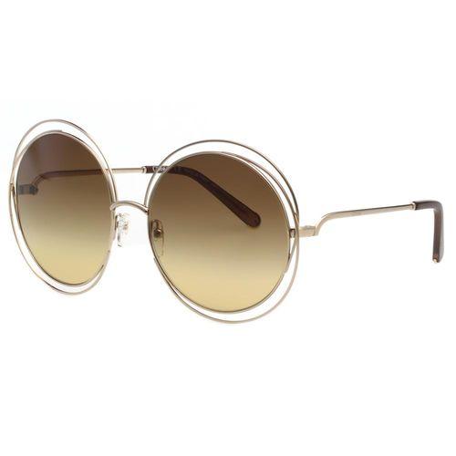 CHLOE太陽眼鏡 金屬圓框 (大面版)CE114S