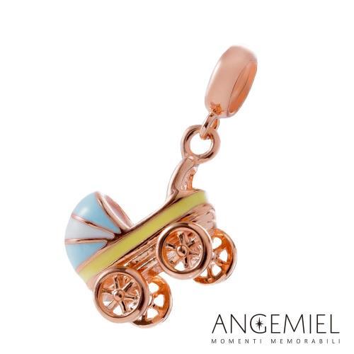 Angemiel安婕米 925純銀吊飾 嬰兒推車