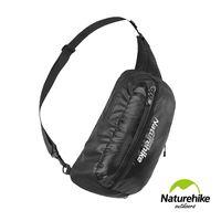 Naturehike 8L戶外輕量單肩斜背包 風行包 黑色