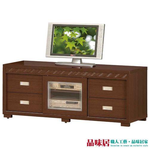 【品味居】維托奇 時尚5尺胡桃木紋電視櫃/視聽櫃
