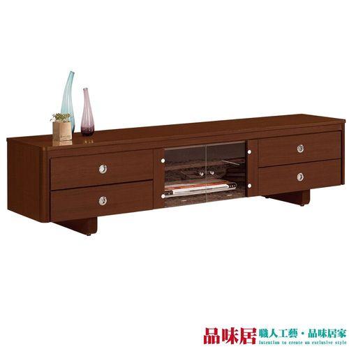 【品味居】維奇 時尚6尺胡桃木紋電視櫃/視聽櫃