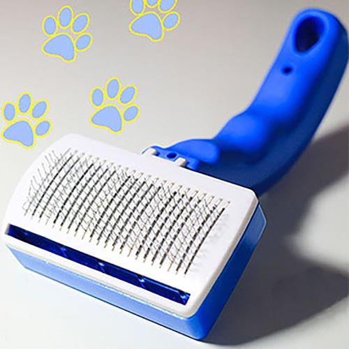 寵物貴族 歐美熱銷頂級專業寵物SPA美容按摩梳/理毛梳(不鏽鋼針梳材質)寵物美容師愛用