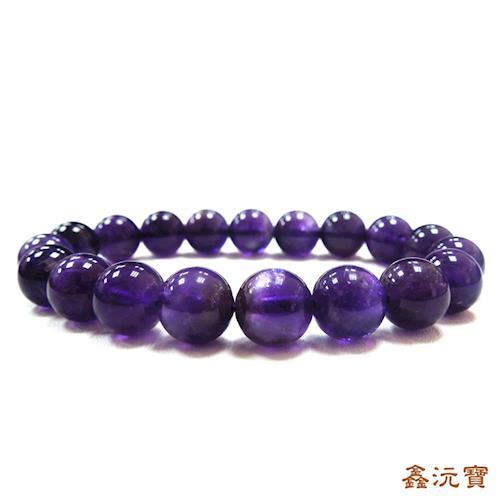 【鑫沅寶】智慧紫水晶手珠(9-10mm)