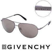 GIVENCHY 法國魅力紀梵希都會玩酷飛行員復古金屬太陽眼鏡 ~ GISGV410056