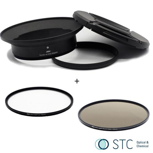 STC Screw-in Lens Adapter 超廣角鏡頭 濾鏡接環組 UV+ND64 105mm For Panasonic 7-14mm