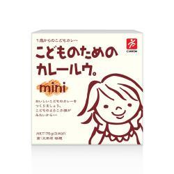日本CANYON─兒童咖哩塊mini  75g