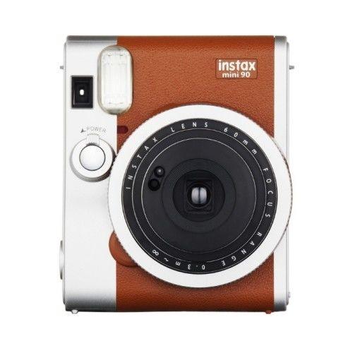 FUJIFILM instax mini 90 復古拍立得相機~棕色 (公司貨)