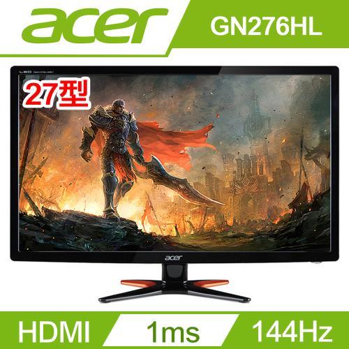 ACER宏碁螢幕 27型電競電腦螢幕 GN276HL