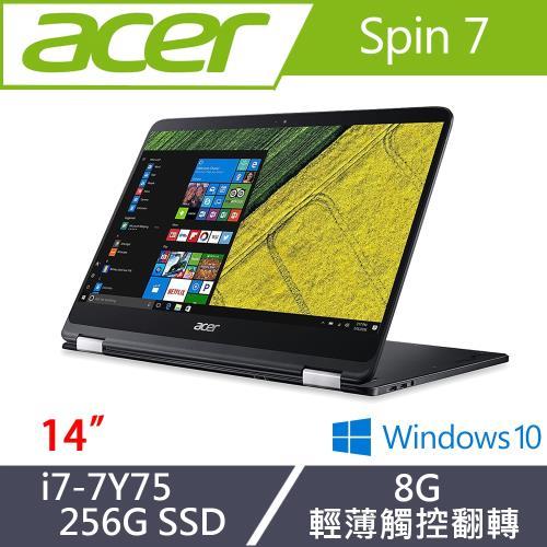 ACER 宏碁 SP714-51-M61T 14吋筆電 i7-7Y75 /HD Graphics 615 /256G SSD
