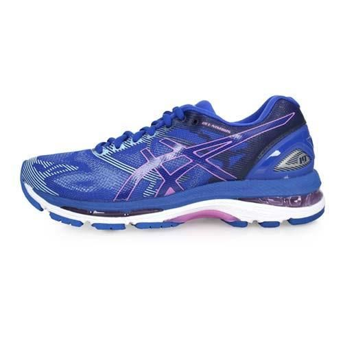 ASICS GEL-NIMBUS 19 女慢跑鞋-跑步 亞瑟士 藍淺紫