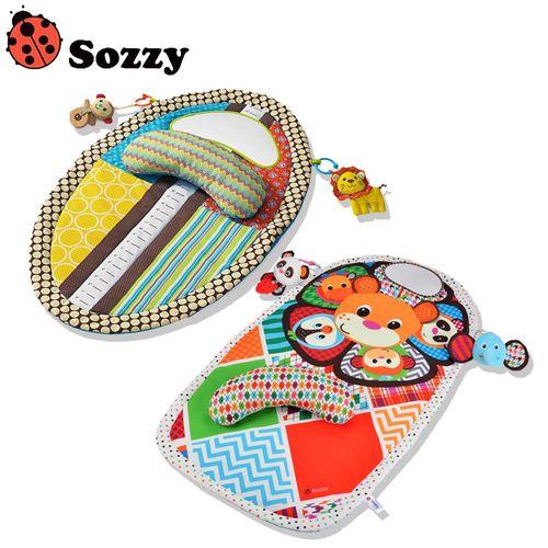 兒童防水動物遊戲毯
