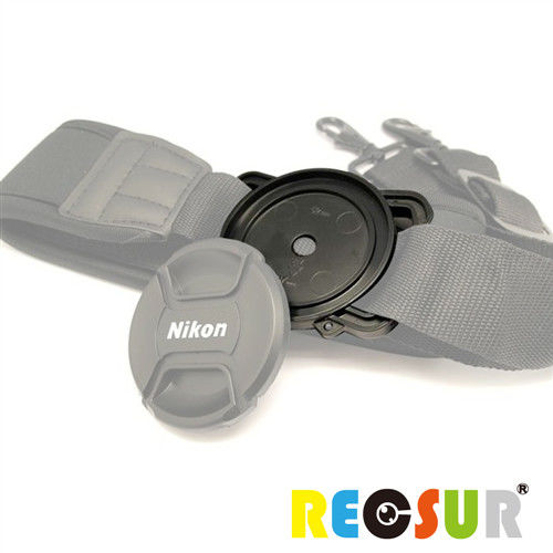 RECSUR 鏡頭蓋防丟扣 FOR 40.5/49/62mm 口徑鏡頭蓋-通用型