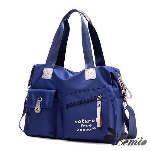 【Lemio】natural free防潑水 雙口袋兩用包