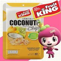 ~Fruit King鮮果脆片~芒果椰子脆片40g