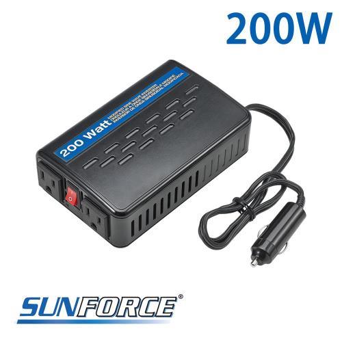 SUNFORCE專業級模擬正弦波電源轉換器200W