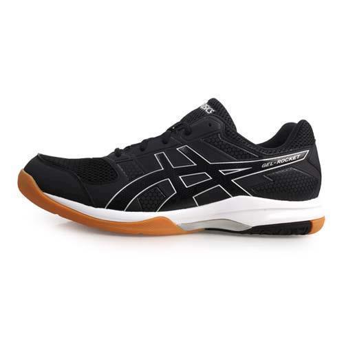 ASICS GEL-ROCKET 8 男排羽球鞋-排球 亞瑟士 黑白