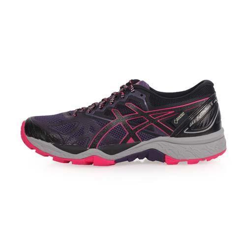 ASICS GEL-FUJITRABUCO 6 G-TX 女越野慢跑鞋-亞瑟士 深紫桃紅