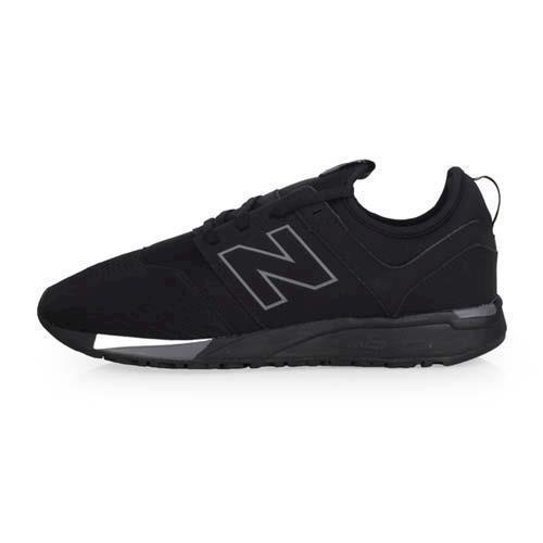 NEWBALANCE 247系列 男休閒運動鞋-D-寬楦 NB N字鞋 黑白