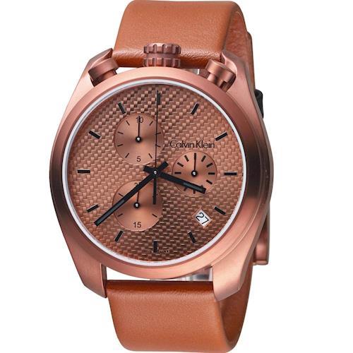 Calvin Klein Control 立體時尚計時腕錶  K6Z17TGK