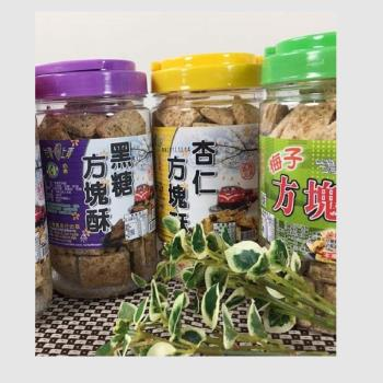 台灣上青 黑糖方塊酥系列+原味牛軋糖麥芽餅系列【共6款組合】