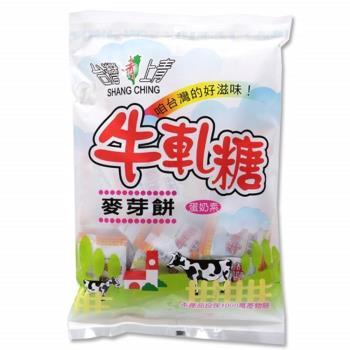 台灣上青 牛軋糖麥芽餅系列(蔓越莓、咖啡、抹茶、原味)【共6包】 250g/包