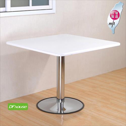 《DFhouse》洽談桌/餐桌(大方桌大圓腳)-會議桌 咖啡桌 餐桌 會客桌 簡餐桌 辦公桌 商業空間設計.