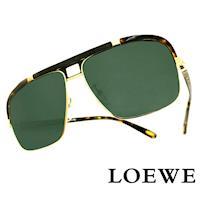 LOEWE 西班牙皇室品牌羅威軍用 太陽眼鏡 豹紋  SLW404~316P