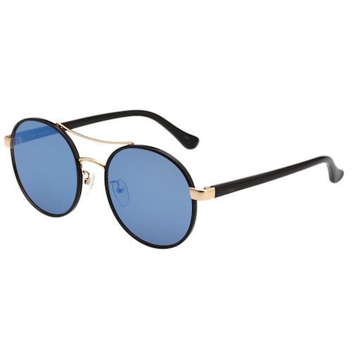 Calvin Klein- 水銀藍 復古 太陽眼鏡(黑色)CK1228SK